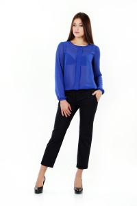 купить брюки и синюю блузку