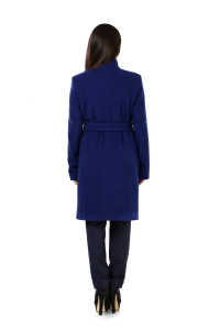 купить синее пальто лавис