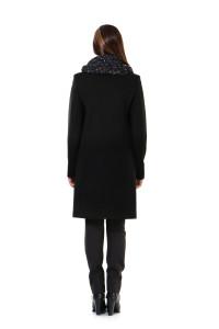 купить черное пальто лавис