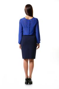 юбкаи синяя блузка