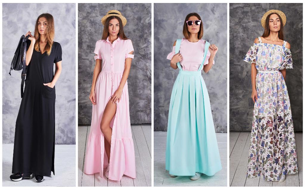 платье-в-пол-от-Лавис-купить