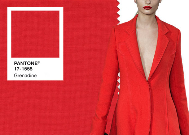 Fashionable colors in autumn winter clothes 2017 2018 by for Pantone 2017 2018
